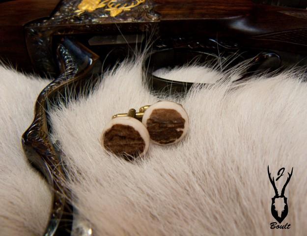 antler cufflinks