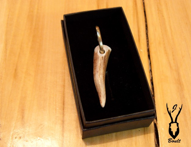 antler key ring roe
