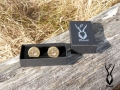 cartridge cufflinks in box
