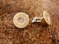 silver plated cartridge cufflinks