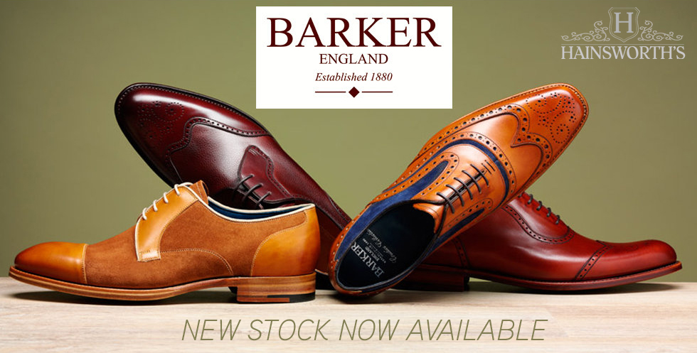 Barker Shoes at Hainsworth's.